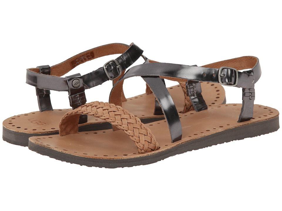 9e760dabb1b UGG UGG - JORDYNE (PEWTER LEATHER) WOMEN'S SANDALS. #ugg #shoes ...