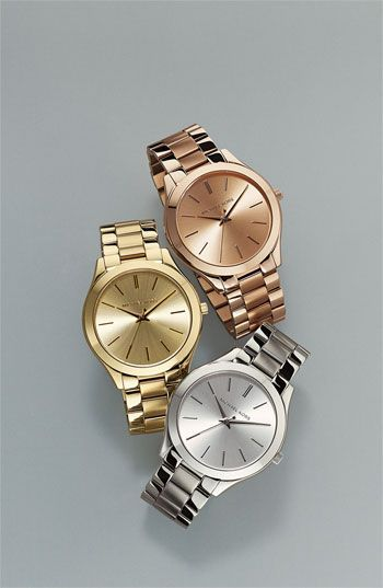 Michael Kors 'Slim Runway' Bracelet Watch, 42mm | Relojes