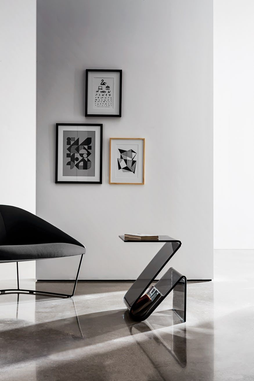 Zeta Magazine Rack By Sovet Now Available At Haute Living Contemporary Furniture Design Furniture Side Table Design
