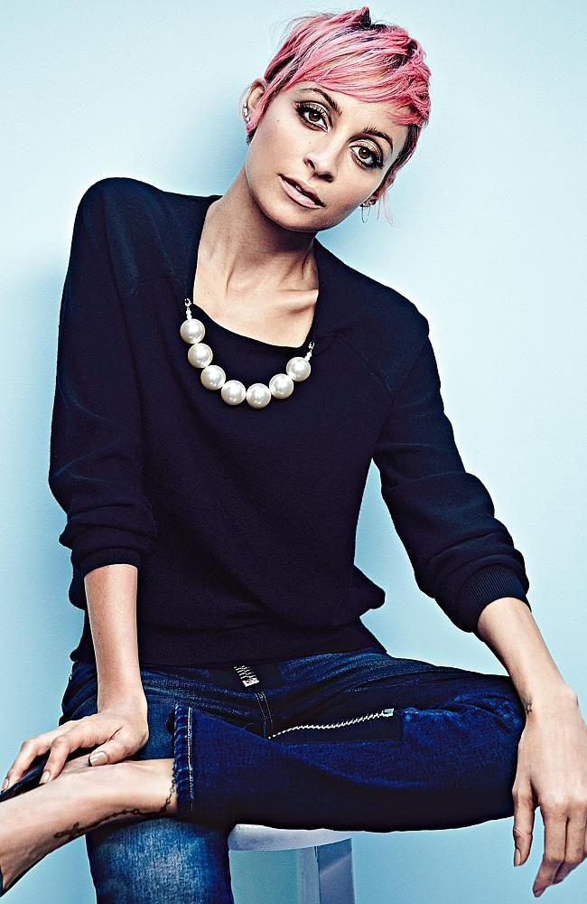 Nicole Richie : Sunday Times Style Magazine.  I love that pink is coming back..