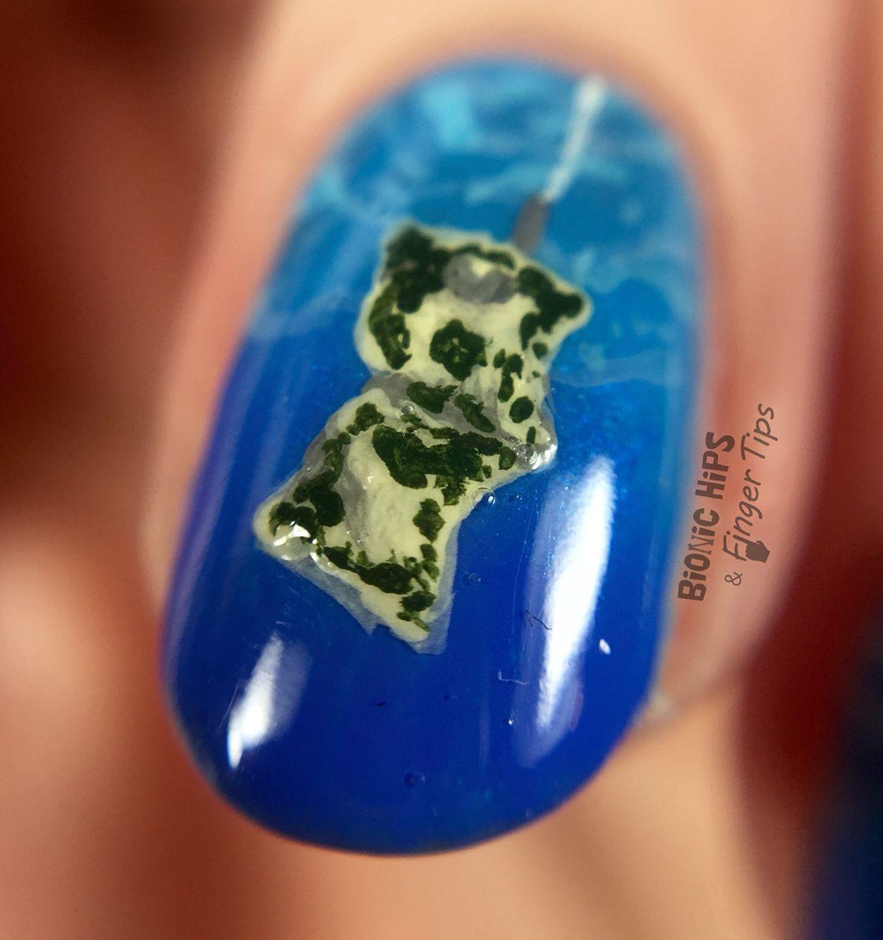 Nirvana nail art by Bionic Hips and Finger Tips | My nail art ...