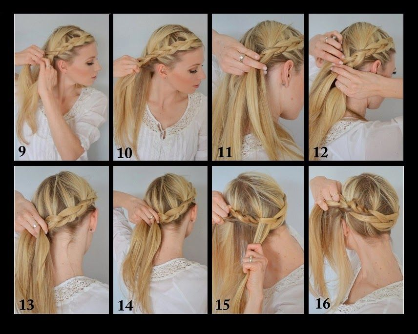 Dutch Crown Braid Tutorial With Images Braid Crown Tutorial