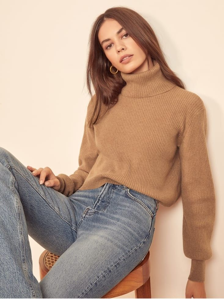 Luisa Cropped Cashmere Sweater in 2020 | Sweaters, Sweater