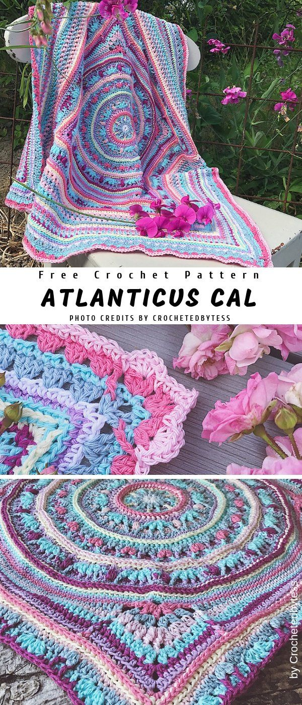 Atlanticus CAL Crochet Pattern