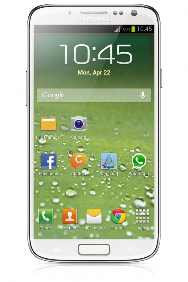 Alleged image of samsung galaxy S IV was up on picasa