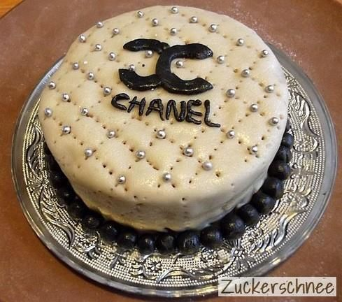 One Million Dollar Cake Chanel Torte Kuchen Ideen Backen