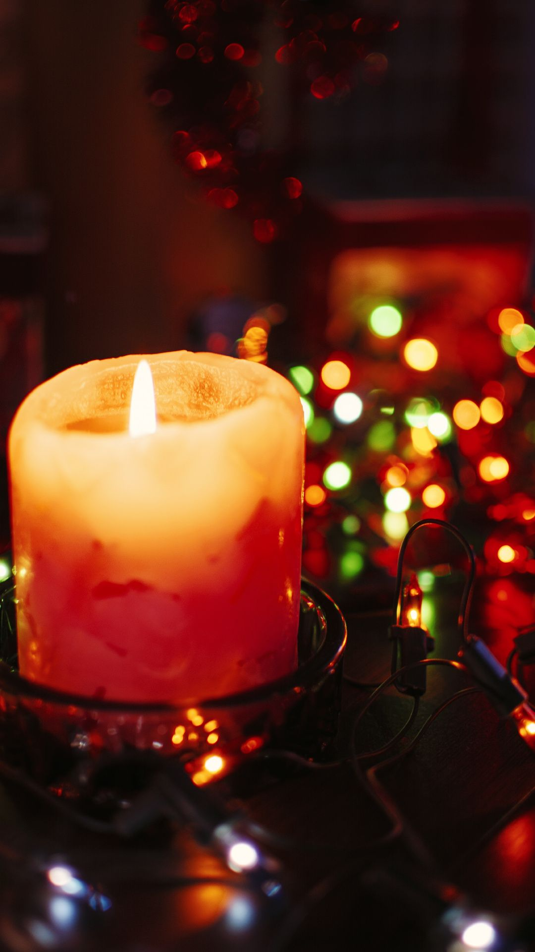 Wallpapers Interieur Christmas Eve Wax Distilled Beverage Candle Candles Wallpaper Candles Bokeh Wallpaper