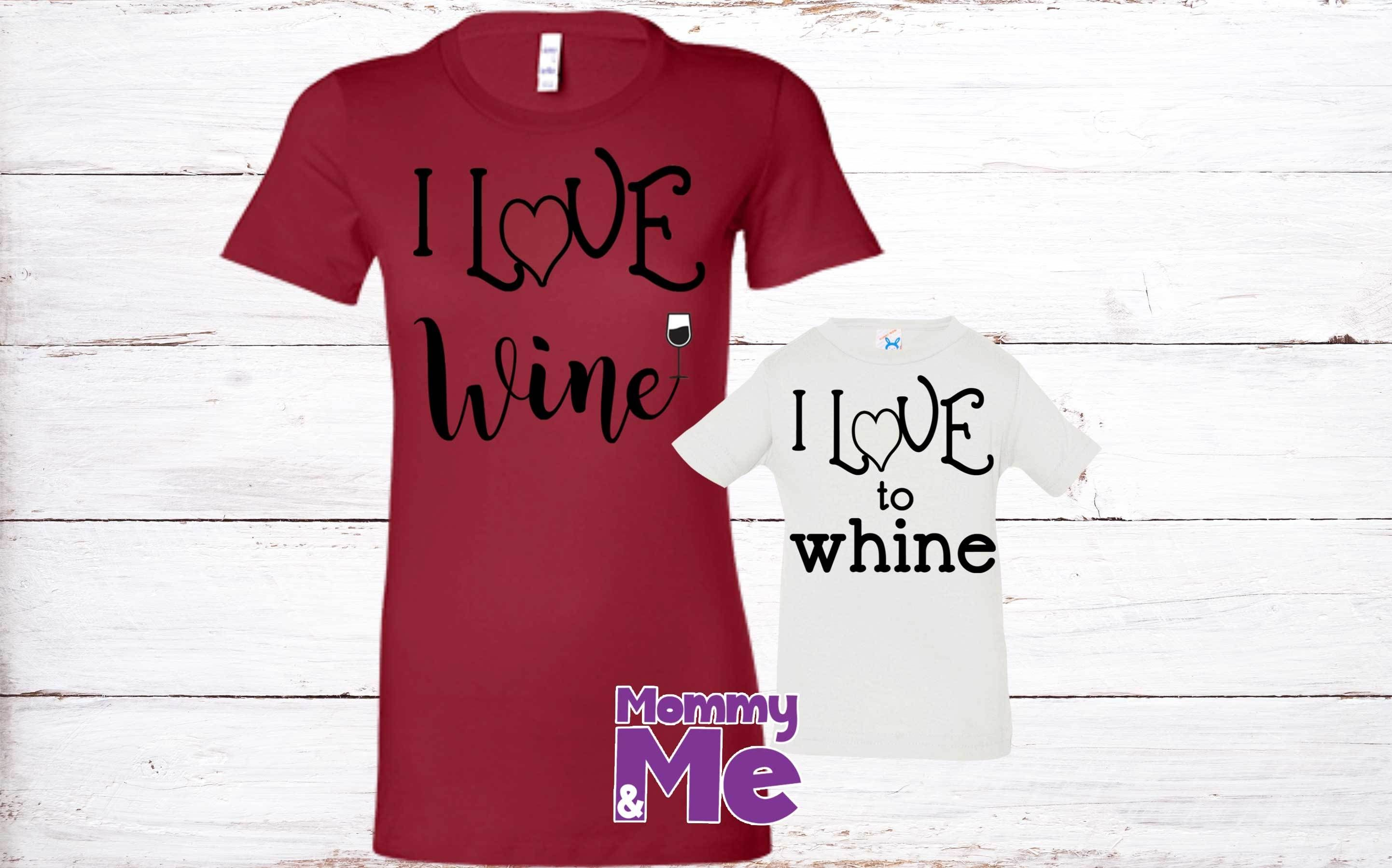 Wine Or Whine Mommy And Me Shirts Baby Stylishonesies Babyclothes Onesie Babiesofig Mommy And Me Shirt T Shirts For Women Mommy And Me
