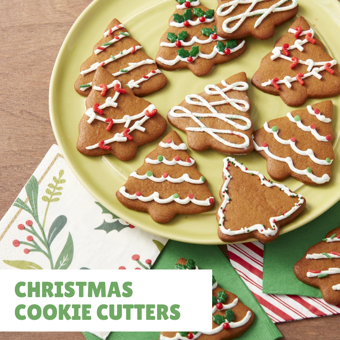 Create a holiday wonderland of cute cookies using this 10