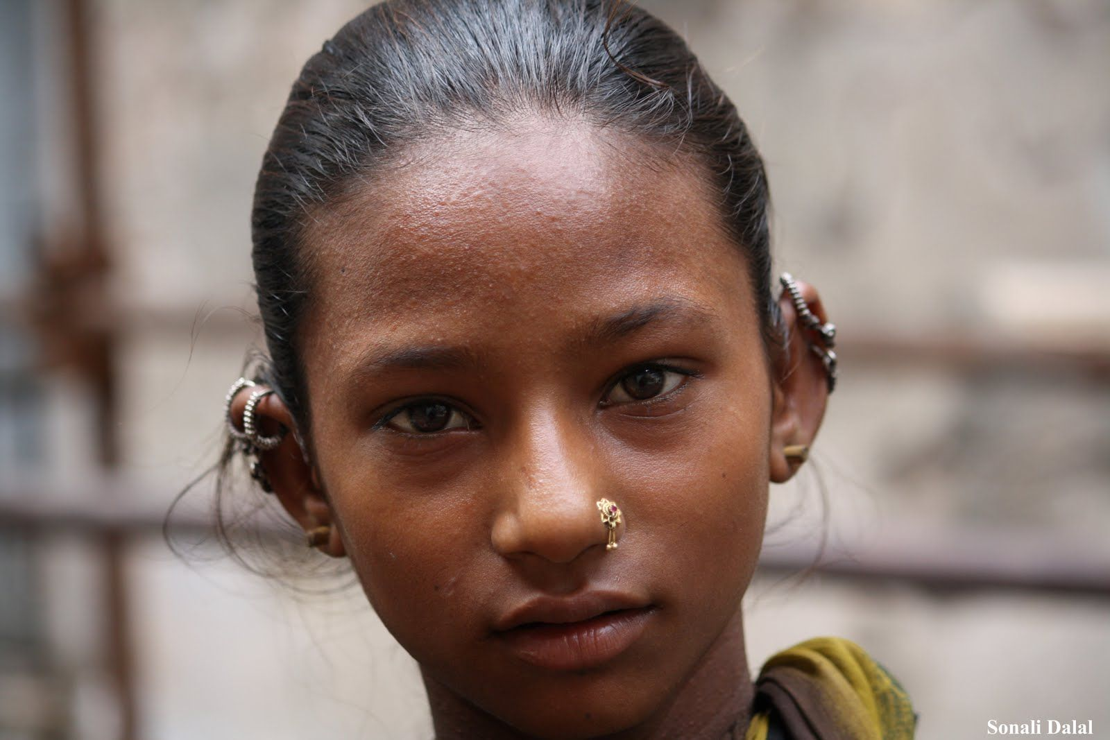 Vedda Girl 02 Girls With Nose Rings Nose Jewelry Face