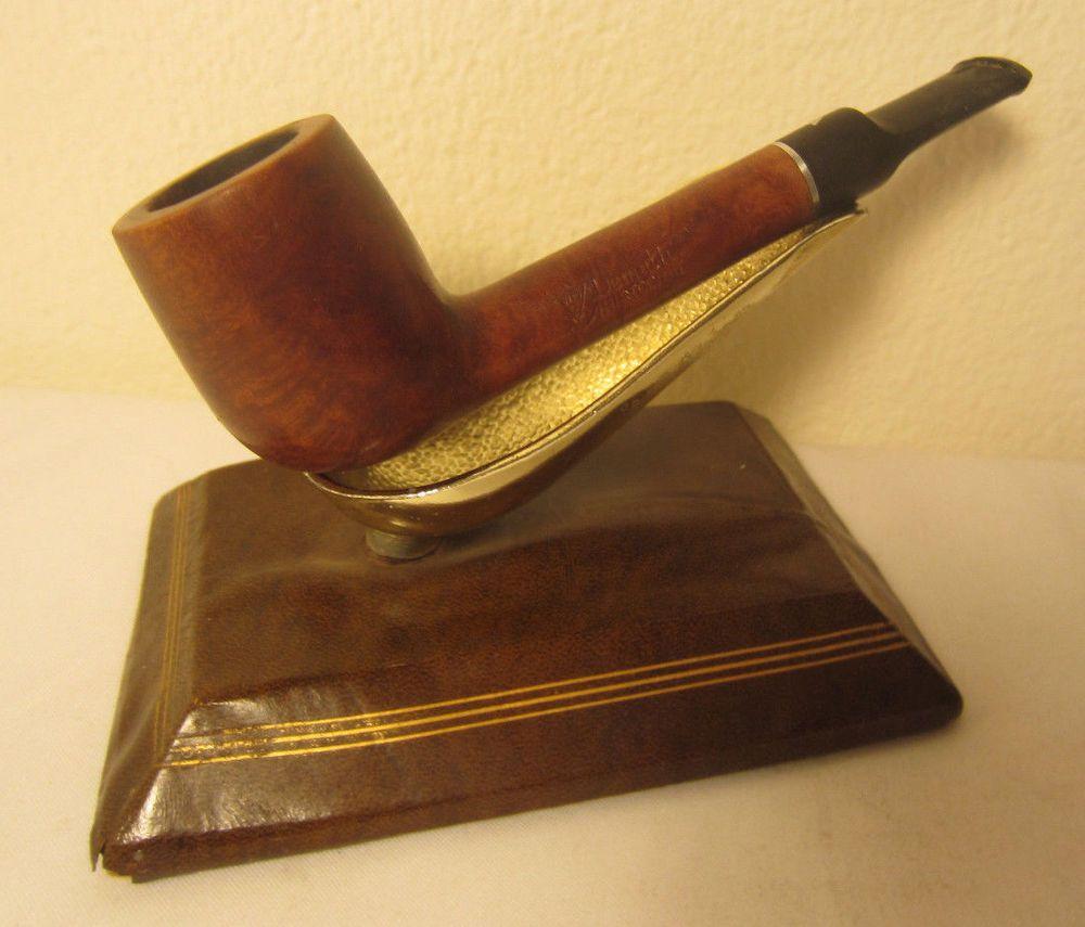 Vintage estate pipe dr grabow golden duke filtered pipe imported briar - Vintage Wdc Wiliam Demuth Co Aristocrat Lovat Style Briar Estate Tobacco Pipe