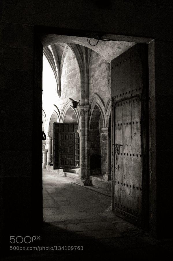 Catedral de Plasencia - Extremadura - Spain - Pinned by Mak Khalaf Black and White CACERESarchitectureblackandwhitecitycáceresespañaextremaduranikonplasenciaspaintamtonurban by jose1963