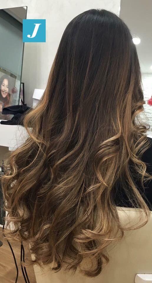 Iluminaciones   •hairstyles•   Pinterest   Balayage braunes Haar ...