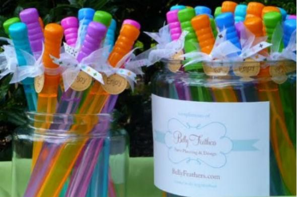 DIY 1st Birthday Party Favors Ideas Kids crafts Pinterest