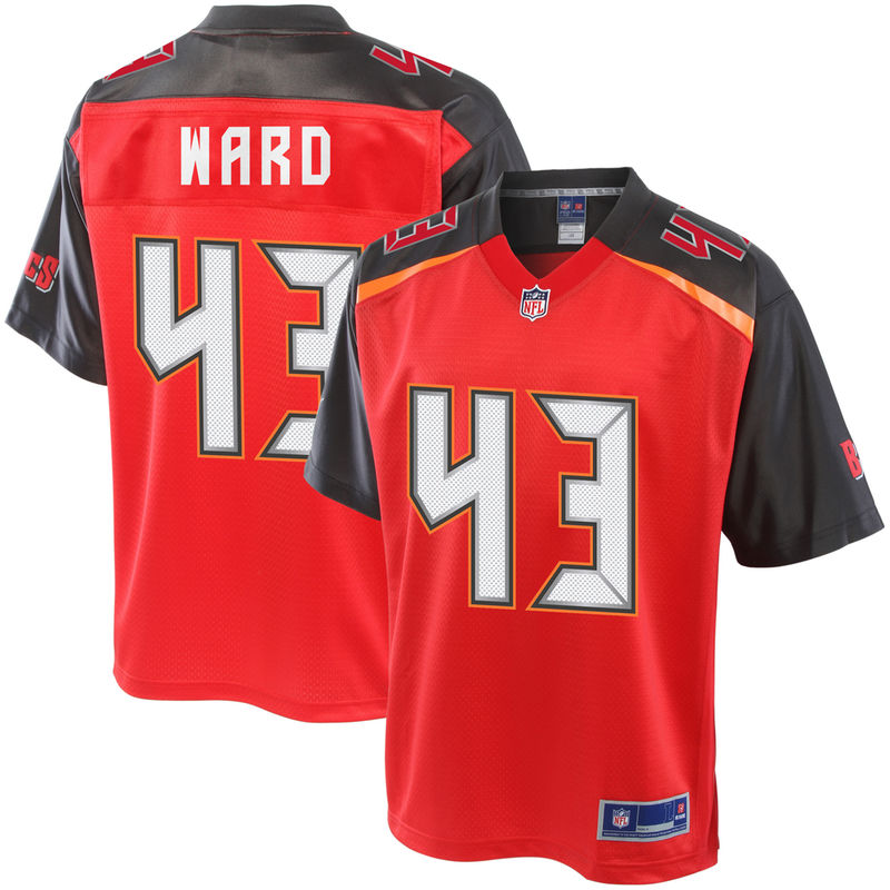 f9b890ab827 T.J. Ward Tampa Bay Buccaneers NFL Pro Line Youth Player Jersey - Red