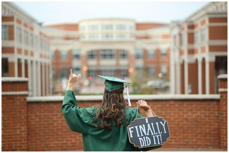 Kaitlynn Risi Senior portraits college, Graduation