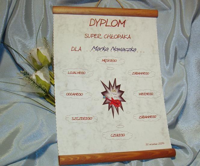 Dyplom Dla Faceta Na Dzien Chlopaka Prezent 2013 3523358067 Oficjalne Archiwum Allegro Craft Projects Crafts Creative