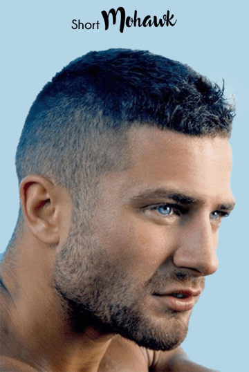 The Short Mohawk The Professional Stylish Hairstyle Projects