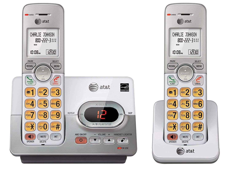 AT&T EL52203 2Handset Cordless Phone System