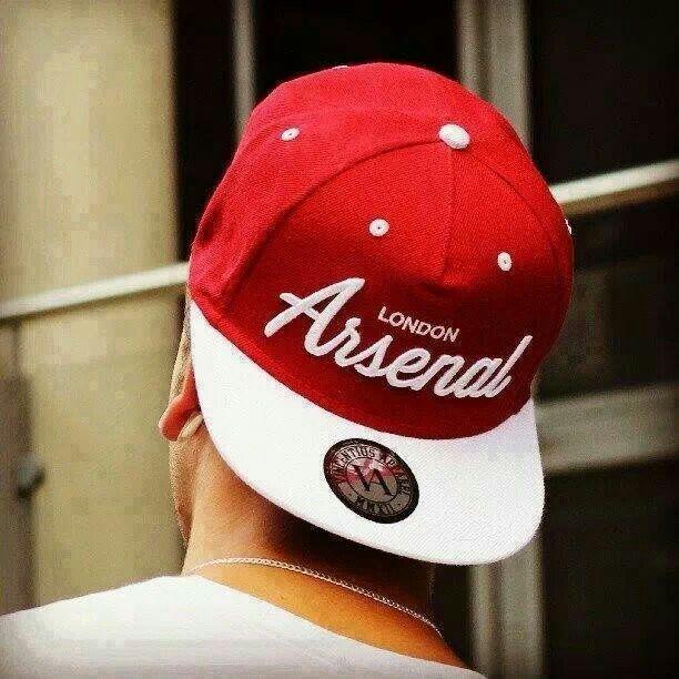 Arsenal snap back hat  b10baf32cdf