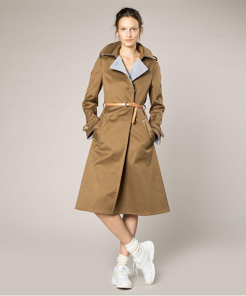 Buitenjas trench coat