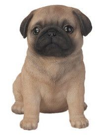 Puggs The Pug Collectible Toy Brown 15.5