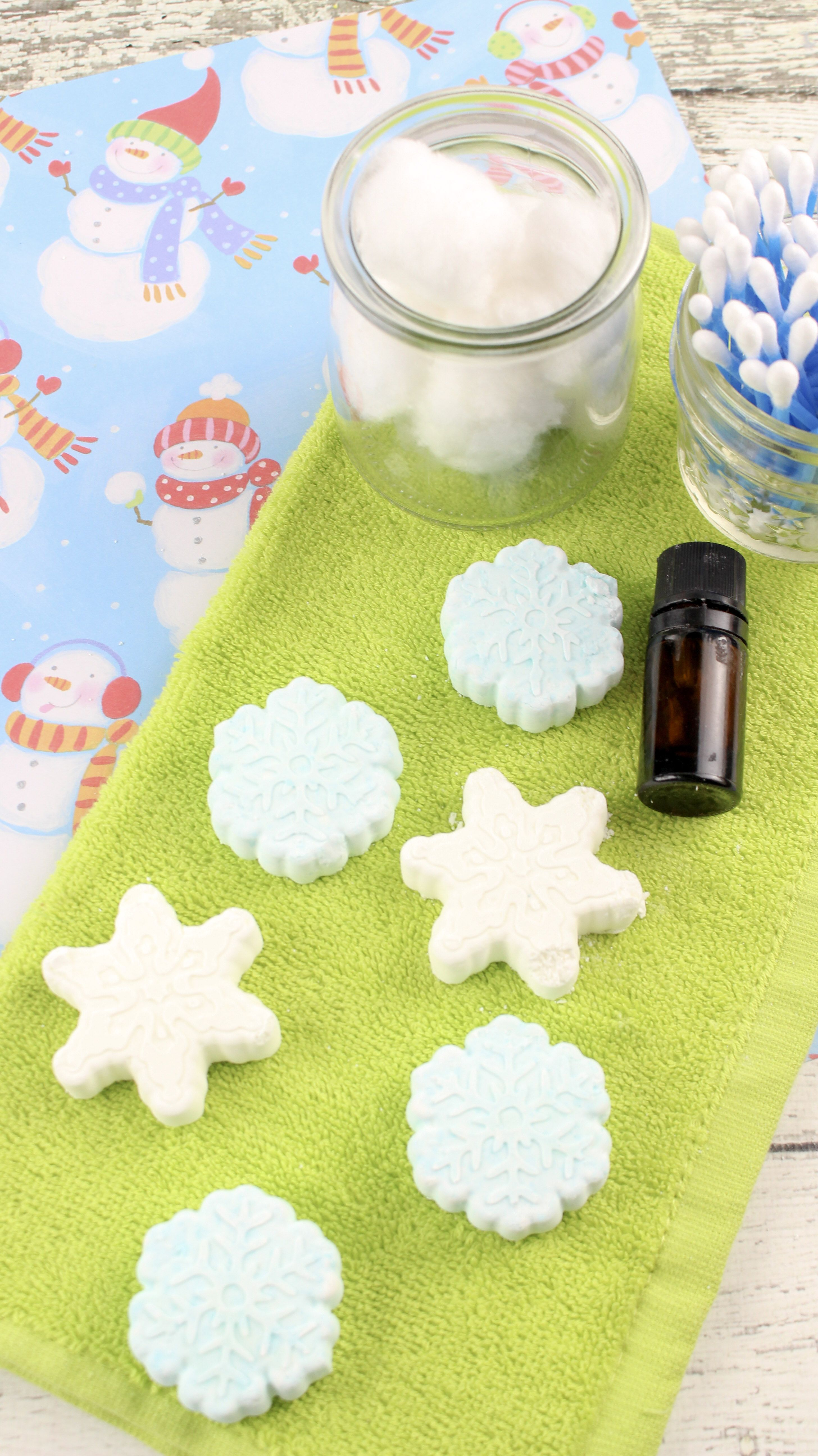 Homemade essential oil shower steamer recipe with images