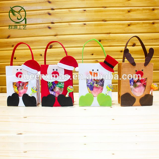 source new arrival felt handmade christmas gift bags in bulk on malibabacom