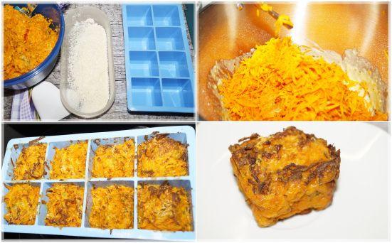 Eckige Kürbiswürfel aus der Eiswürfelform - Enias easy Kitchen