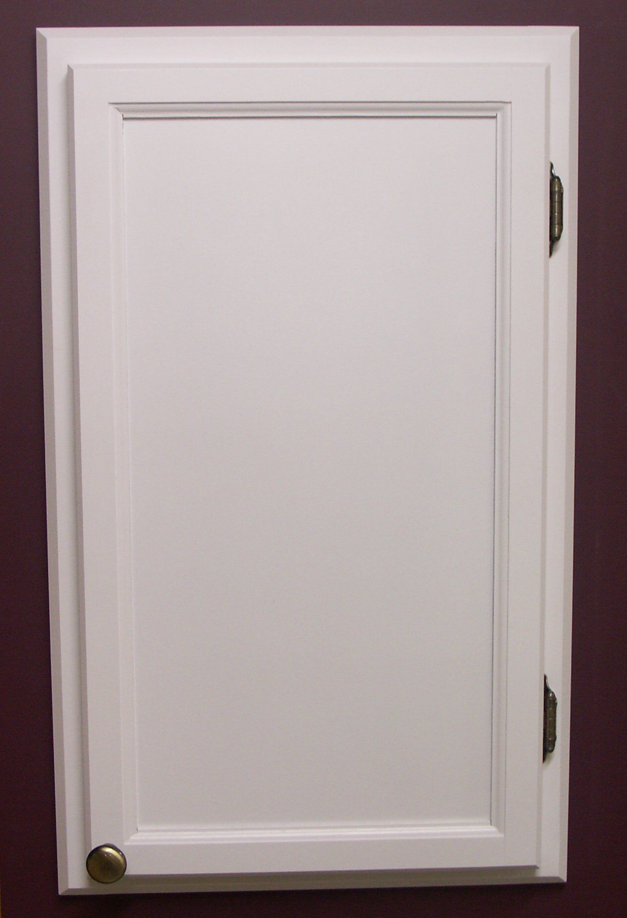 Acc3 solid wood custom size access panel frame and door