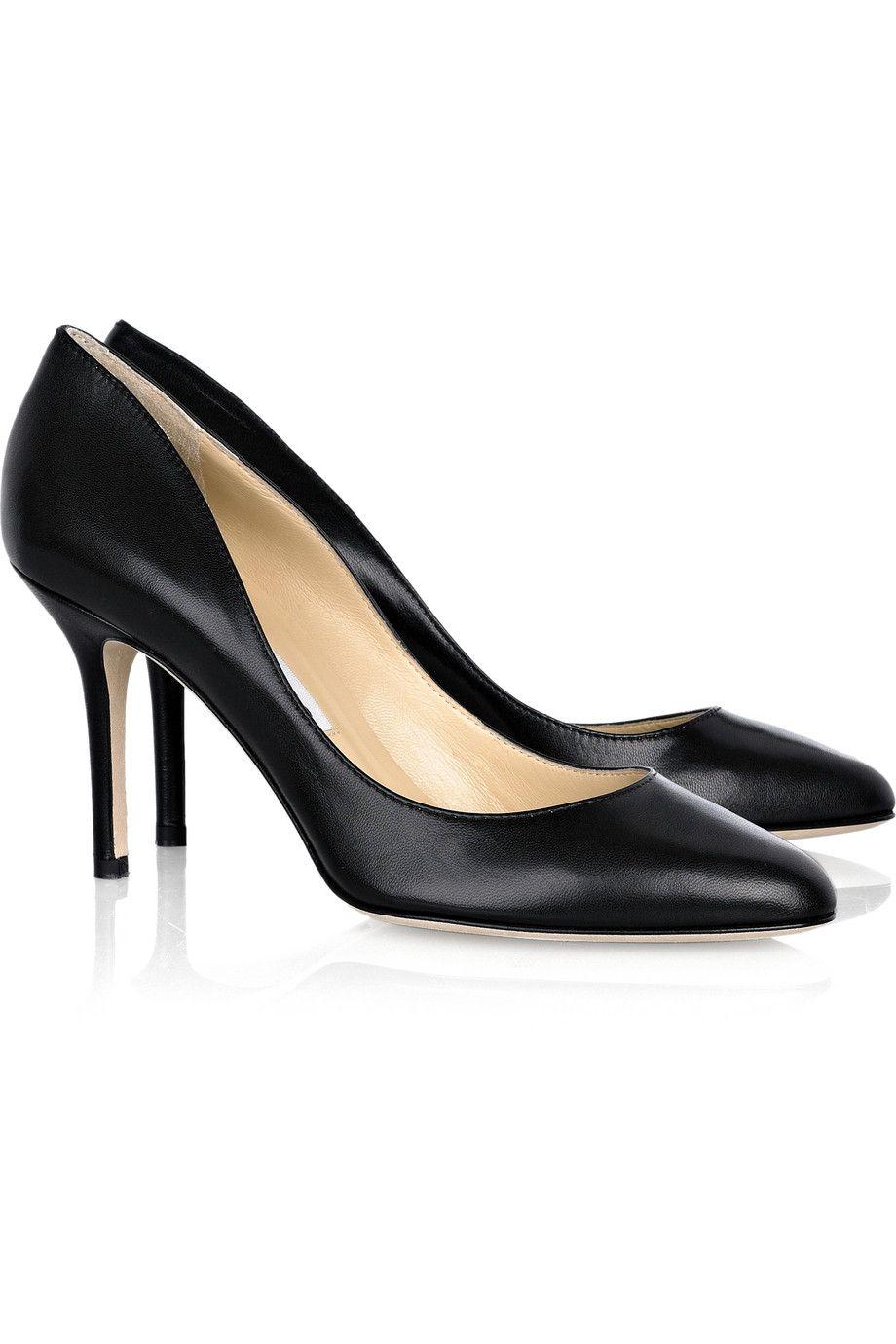 Ala?a Leather Heels