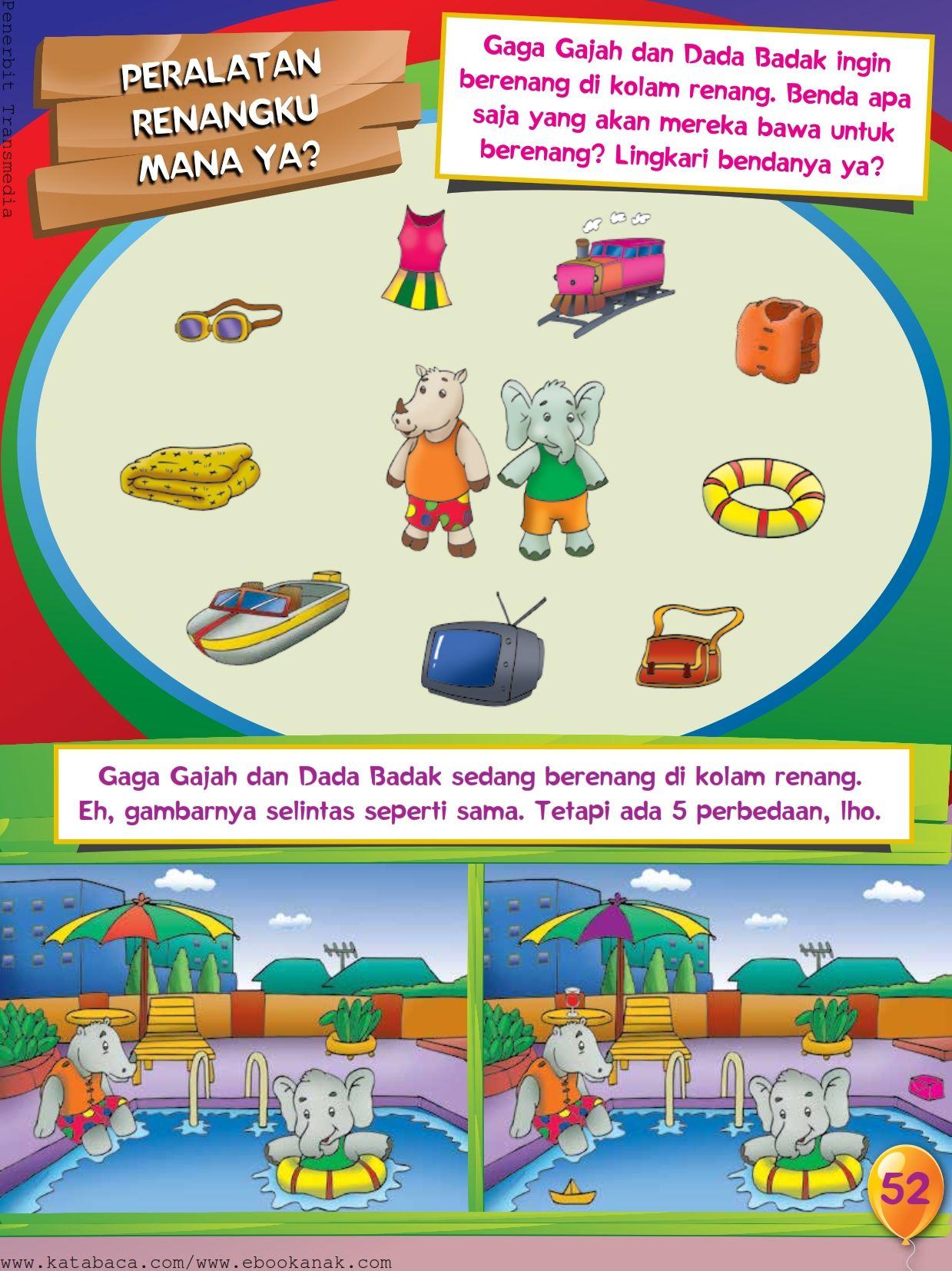 Baca Buku Online Buku Aktivitas Anak Jenius Tk A B 055 Mengenal