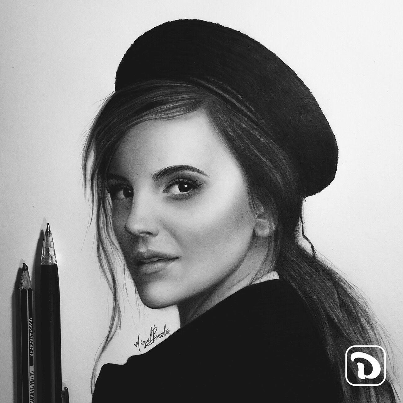 emma watson Emma Watson. Pencil drawing