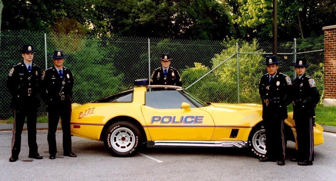1982 Corvette - Waterford Police