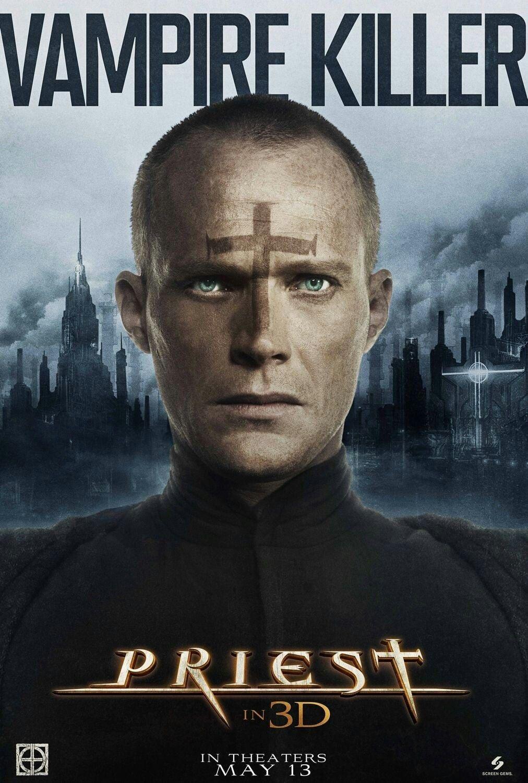 Priest movie poster Fantastic Movie posters #SciFi movie posters #Horror  movie posters #Action movie posters #Drama movie posters #Fantasy movie  posters ...