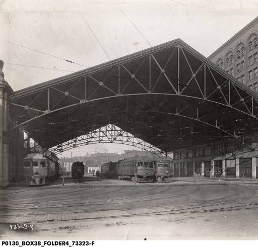 Indianapolis Traction Shed For Interurban Lines Indianapolis Guest Blogging Landmarks