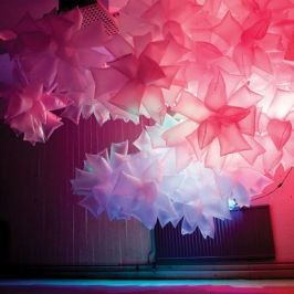 8 incredible examples of plastic bottle art and installation #lightartinstallation