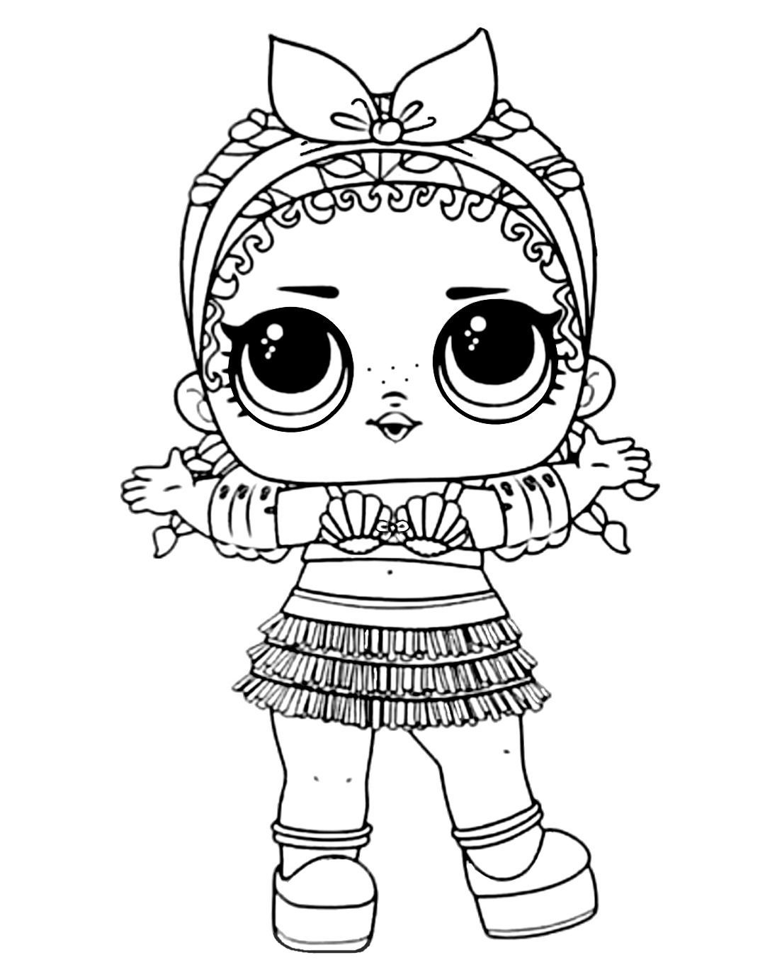 Lol Surprise Coloring Book Coconut Qt Lol Dolls Hello Kitty Coloring Pages