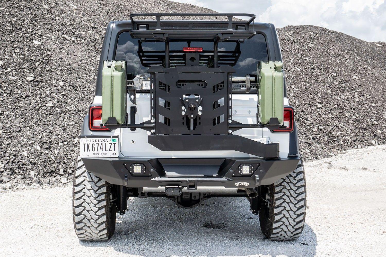 2018 jl destroyer fullwidth rear bumper w tire carrier
