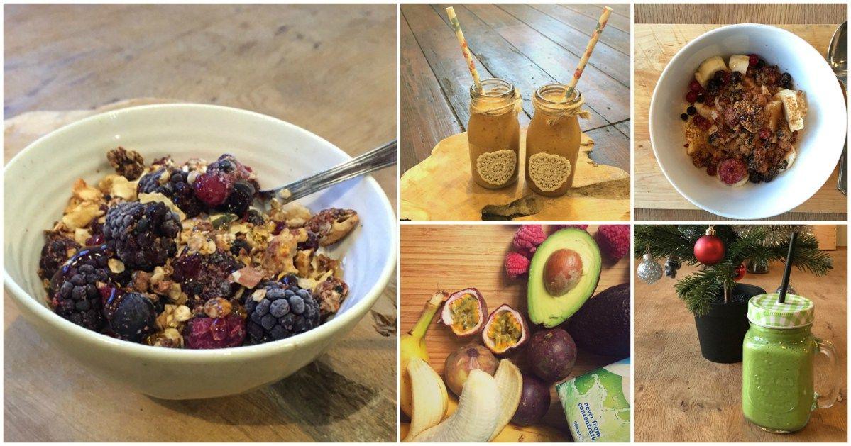 Clean Eating Week One, Breakfast suggestions