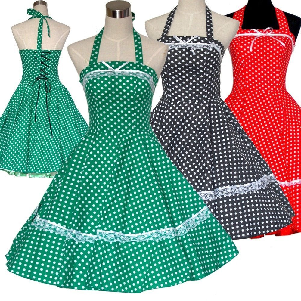 VINTAGE 1950\'s 1960\'s ROCKABILLY SWING EVENING COCKTAIL RETRO PARTY ...