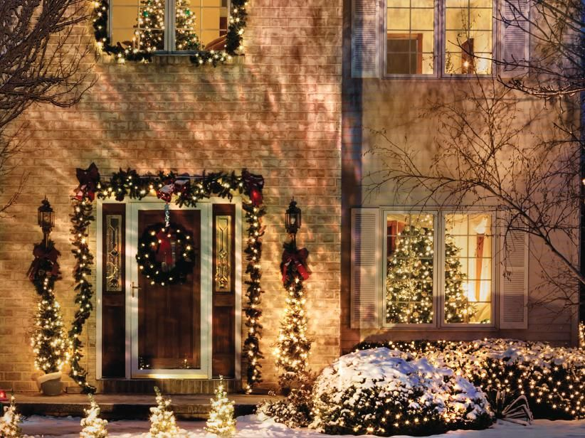 Outdoor Christmas Lights The Home Depot Canada Outdoor Christmas Lights Christmas Central Contemporary Holiday Decor