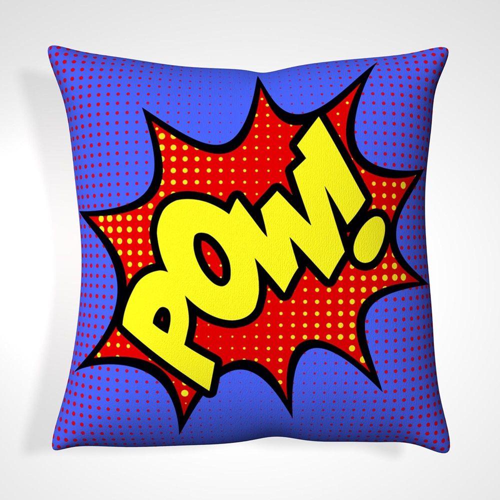 Cushion in retro pow design 抱枕 pinterest retro and pillows
