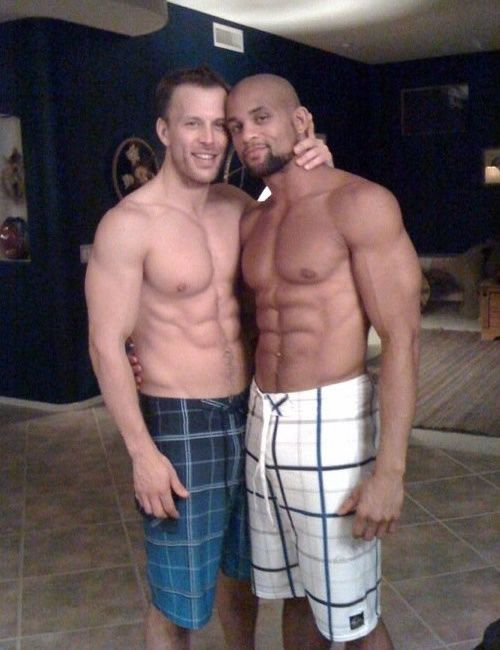 Interracial gay sexual relationships