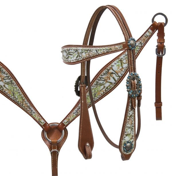 star conchos Western headstall// breast collar tack set w//pink overlay crystals