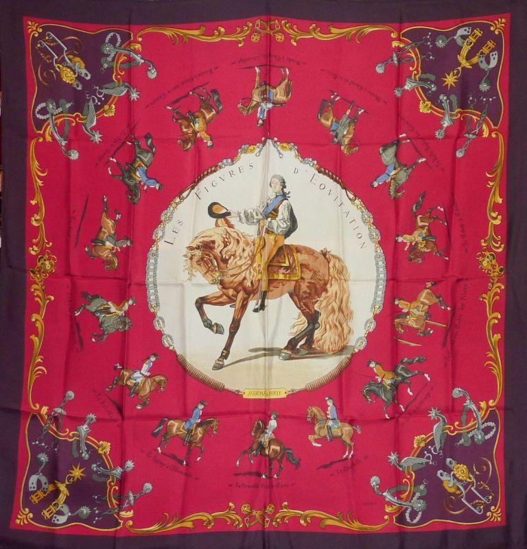 Hermès - Les Figures d'Equitation