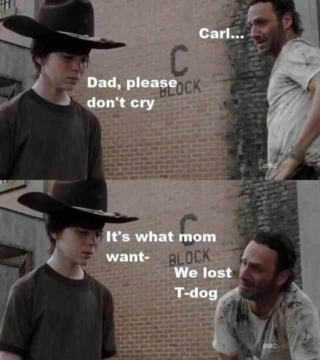 Yeah, I Wasn't Too Happy About That Either, Rick Grimes