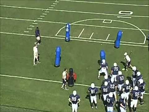 Penn State Defensive Line Drills Part 5 Football Defense