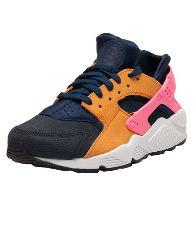 best service b6701 50760 NIKE Air Huarache Run PRM sneaker Low top womens Lace up closure Suede and  stretch materials for ul... True to size. Synthetic materials.