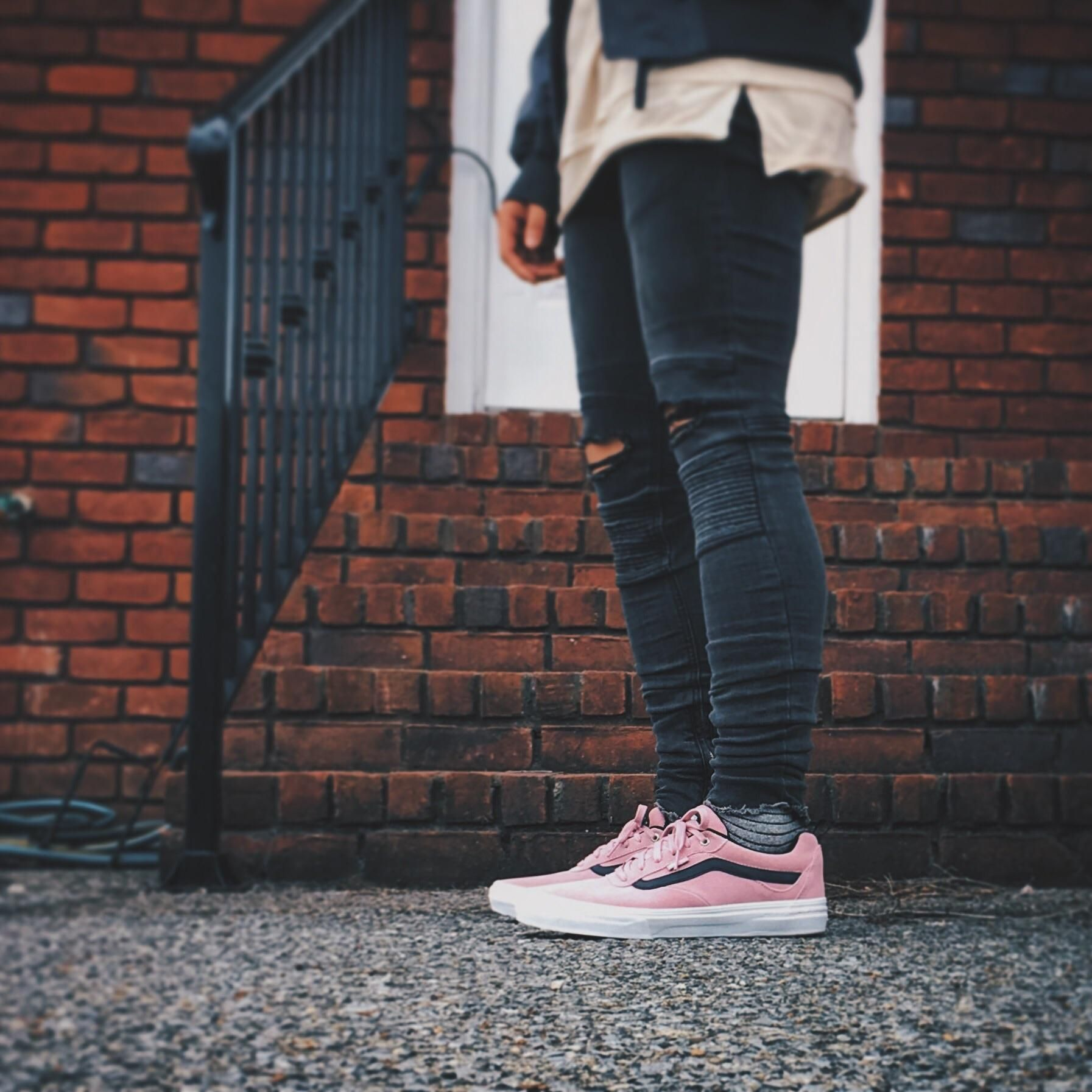 e5ed01cb7a WDYWT  Something different...Vans Kyle Walker Pros in pink.